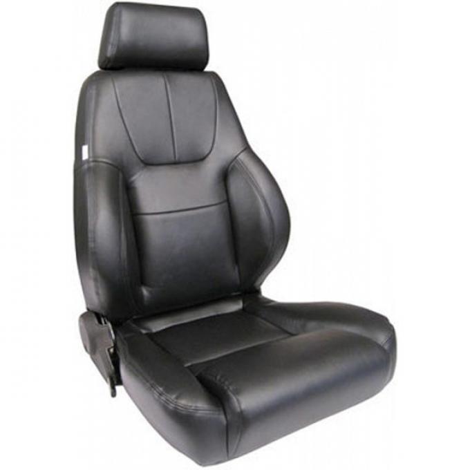El Camino Bucket Seat, Elite Recliner, Lumbar Right