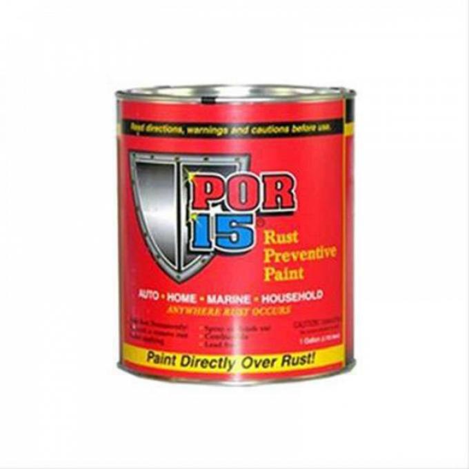 Rust Preventive Paint, Gloss Black, POR-15, Pint