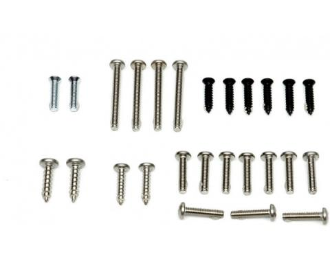 Chevelle Exterior Mounting Screw Assortment, 1967