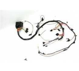 Chevelle Dash Wiring Harness, Main, For Cars With Warning Lights & Without Seat Belt Warning, 1972