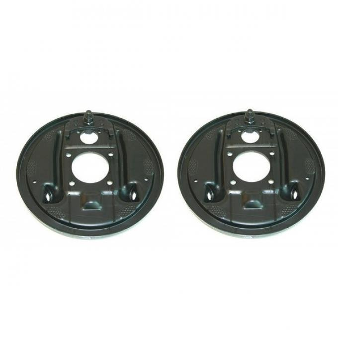 El Camino Rear Drum Backing Plate, Without Splash Shield, 1964-1972