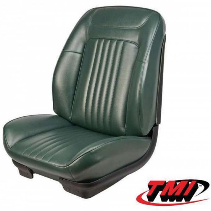 Chevelle Sport Bucket Seat Covers & Foam, Coupe Or Convertible, 1971-1972