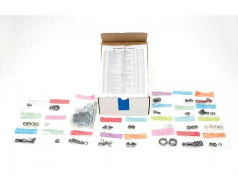 Chevelle Master Chassis Assembly Hardware Kit, For Cars With 307/350, Drum Brakes, 1969