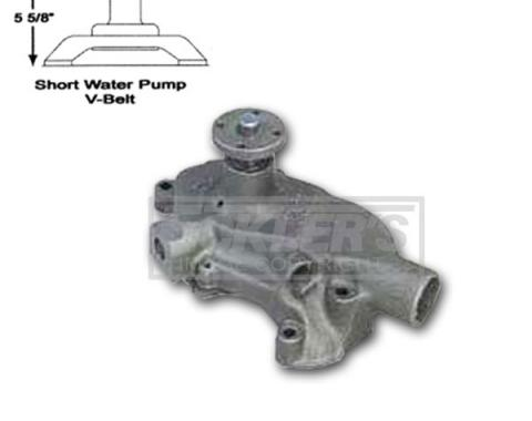 Chevelle Water Pump, Small Block, Short Style, AC Delco, 1964-1968