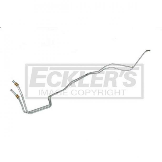 Chevelle Transmission Cooler Line, T350, 5/16 Inch, Steel 1978-1983