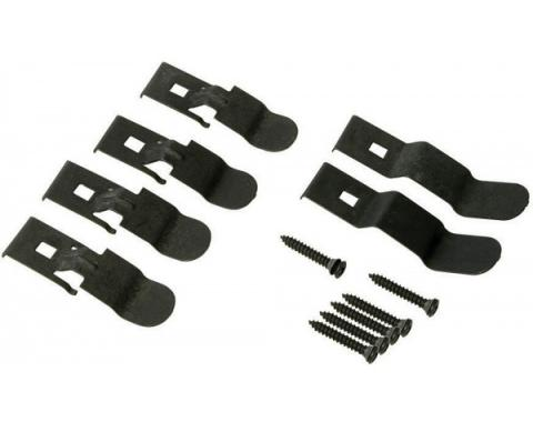 Chevelle Dash Pad Clip Kit, 1970-1972