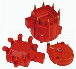 Chevelle And Malibu MSD Distributor Cap, Rotor And Coil Cover Kit, HEI, V8, 1975-1983