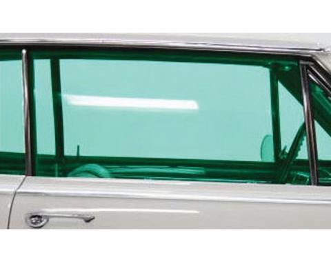Chevelle Door Glass, 2-Door Coupe, Right Hand, 1964