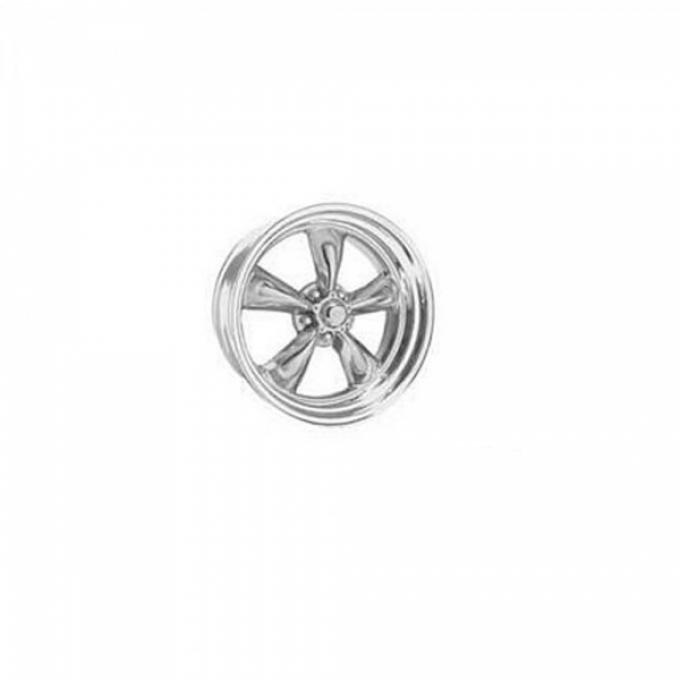 Chevy American Racing Torq Thrust II Wheel, Polished Aluminum, 15X10