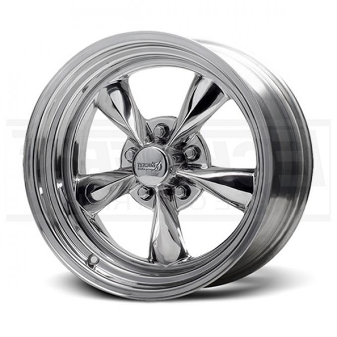 Fuel Chrome Wheel, 15x4, 5x4 3/4 Pattern, 1959-1987