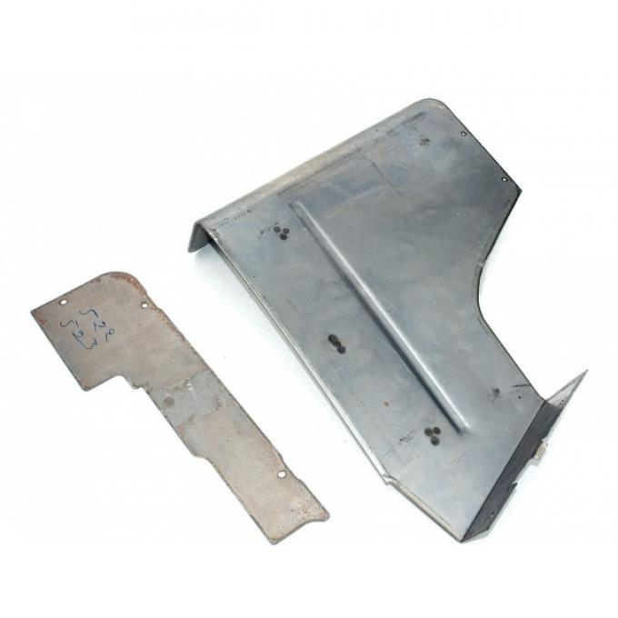Chevelle Armrest Panel, Upper, Left, Rear, Convertible, ForCars With Power Top, 1968-1972