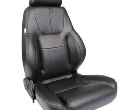 Chevelle & Malibu Bucket Seat, Elite Recliner, Lumbar, Left, 1964-1983