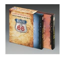 Chevy DVD Series, Route 66, Season 1, Complete