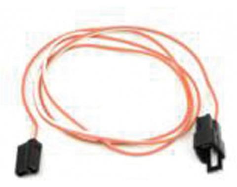 El Camino Center Console Extension Wiring Harness, For Cars With Manual Transmission, 1968-1972