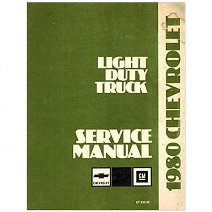 El Camino Shop Manual, 1980