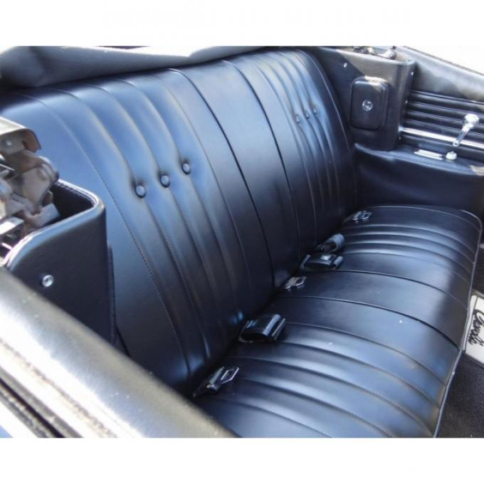 Distinctive Industries Chevelle Bench Seat Covers, Convertible, Rear, 1968