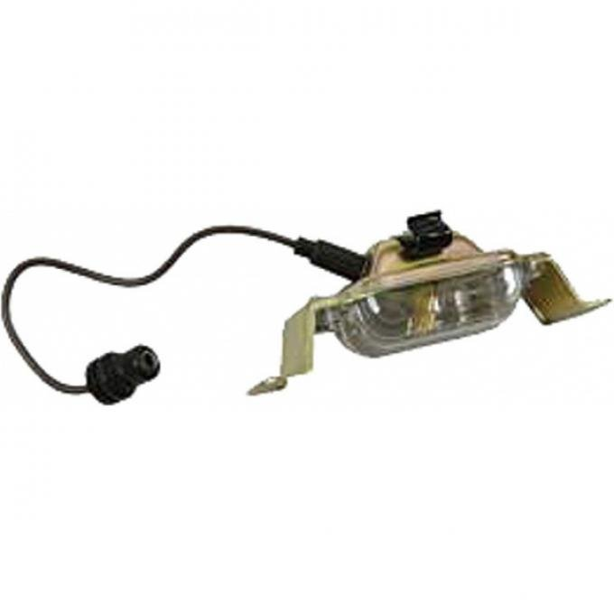 Chevelle License Plate Light Assembly, 1970-1972