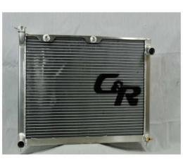 Chevelle And Malibu C&R Racing Radiator, For LS Engines, With Transmission Oil Cooler, 1968-1977