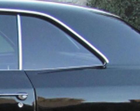 Chevelle Quarter Glass, 2-Door Coupe, Left Hand, 1966-1967