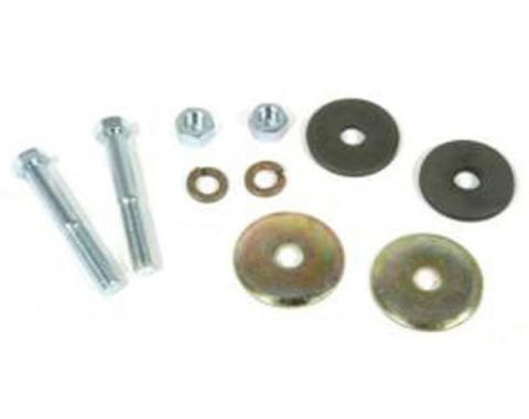 Chevelle & Malibu Radiator Core Support Bushing Hardware Kit, 1973-1983