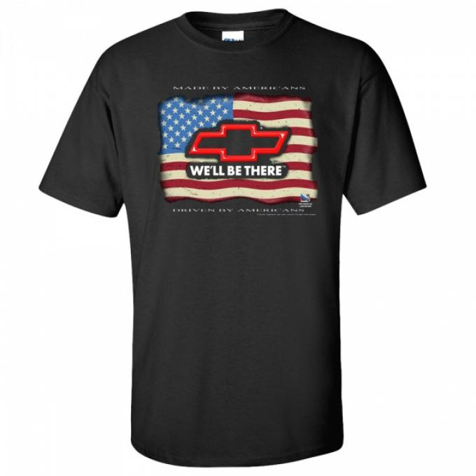 We'll Be There T-Shirt, Chevy, Black