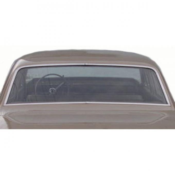 Chevelle Back Glass, 2-Door Sedan, 1966-1967