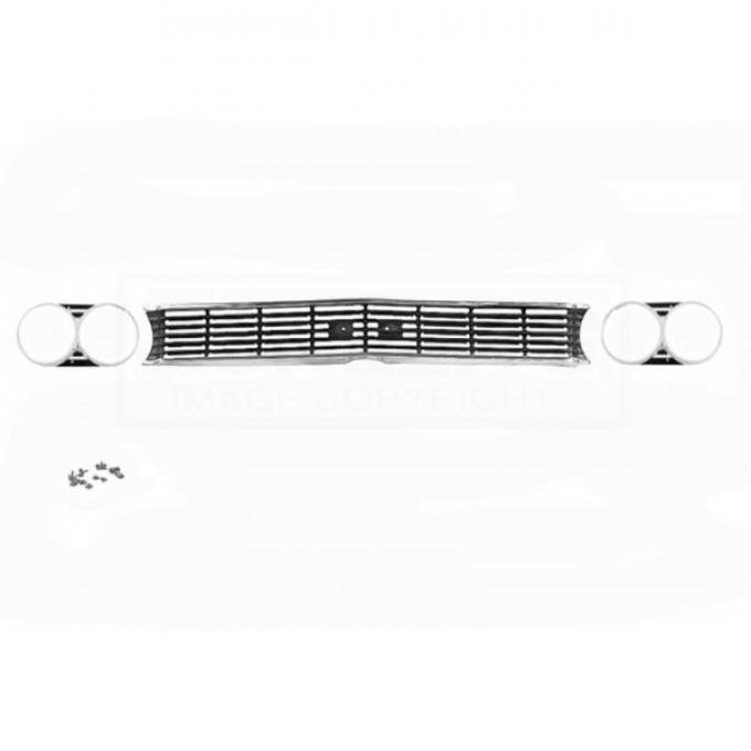 Chevelle Grille And Headlight Bezel Kit, Super Sport 396, 1966