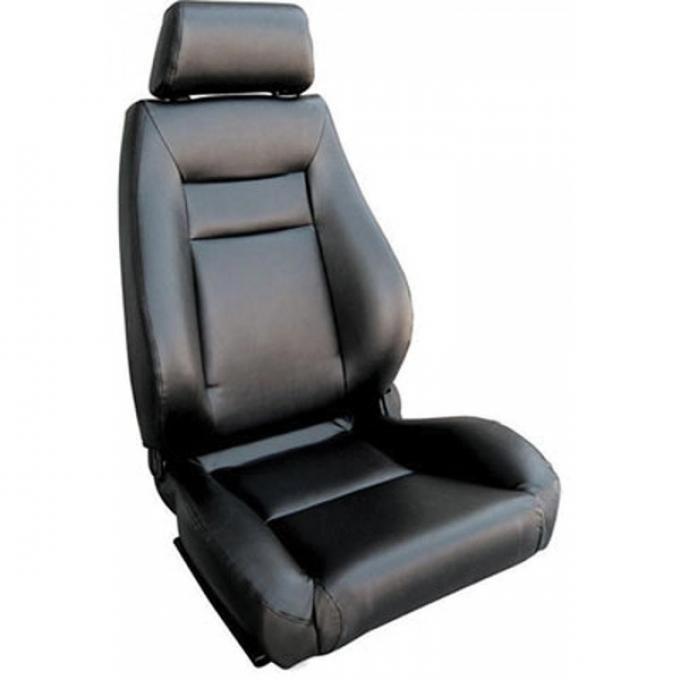 El Camino Bucket Seat, Elite Recliner, Left