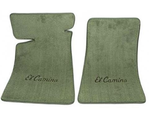 El Camino Carpeted Floor Mats, Embroidered, 1959-1960