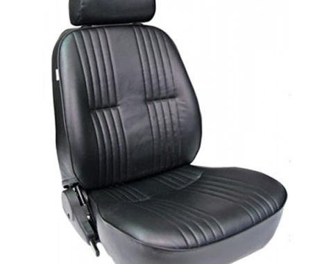 Chevelle & Malibu Bucket Seat, Pro 90, With Headrest, Left,1964-1983