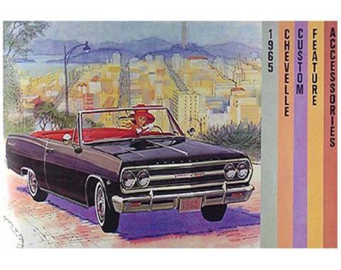 Chevelle And Malibu Color Accessory Brochure, 1965