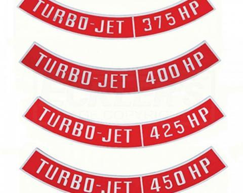 Chevelle Air Cleaner Emblem, Turbo Jet, 1964-1983