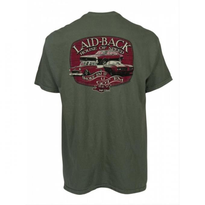 Laid Back House Of Speed T-Shirt, Sage