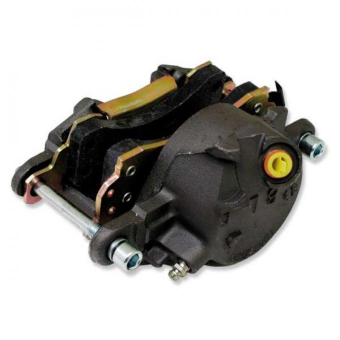 Chevelle Disc Brake Caliper, Right, Front, With Pads, 1964-1972