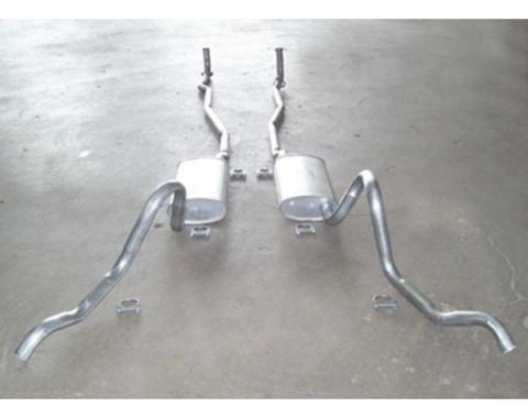 Chevelle - Dual Exhaust System, Small Block, Except Station Wagon, 1964