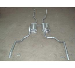Chevelle - Dual Exhaust System, Small Block, Except Station Wagon, 1970-1972