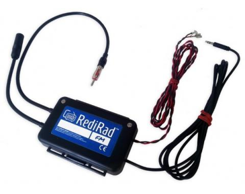 Redi-Rad Radio Mobile Device Adapter, For 12 Volt Negative Ground FM Radios/Stereos