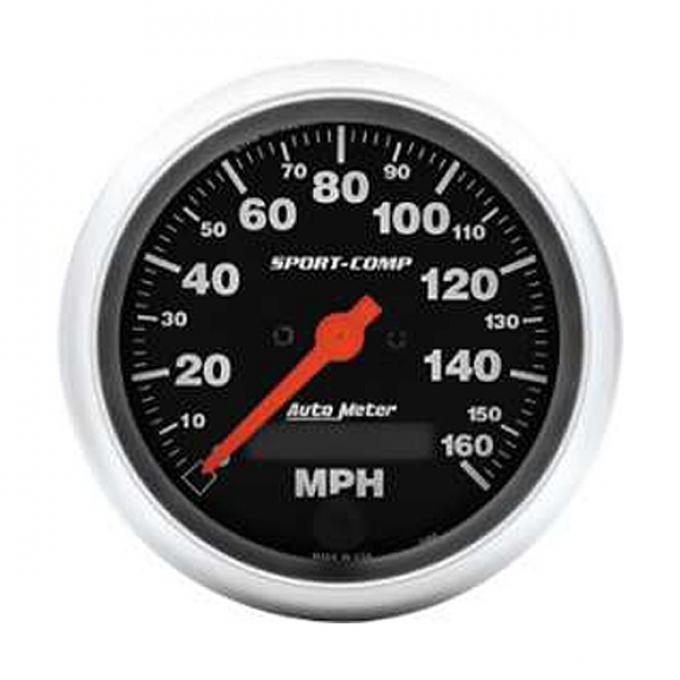 El Camino Speedometer, Electric, 160 MPH, Sport-Comp Series, AutoMeter, 1959-1987