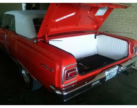 Chevelle Trunk Upholstery Panel Kit, 1/4 Tempered Hardboard, 1964-1965