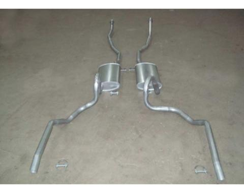 Chevelle - Dual Exhaust System, Small Block, Except Station Wagon, 1968-1969