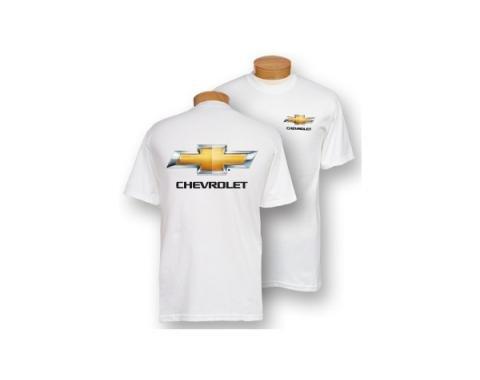 Chevy Bowtie T-Shirt, White