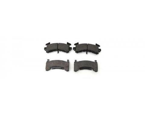 Chevelle Front Brake Pads, HPS Compound, 1968-1983