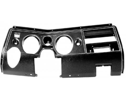 El Camino Dash Face Plate, For Astro Ventilation And No Air Conditioning, 1969