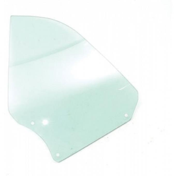 Chevelle Quarter Glass, Convertible, Left Hand, 1966-1967
