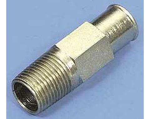 Chevelle Heater Hose Nipple Fitting, 1964-1983