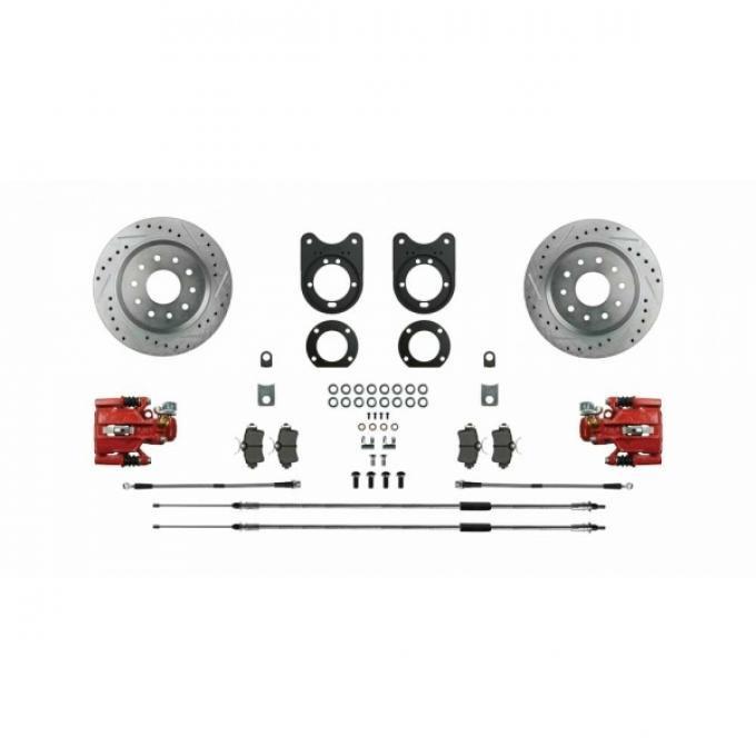 Big Brake Rear Disc Conversion, Non -Staggered, 67