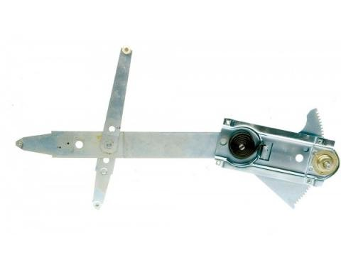 Chevelle Manual Door Window Regulator, Right, 1964-1967
