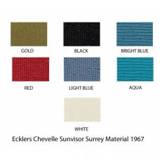 PUI Surrey Sun Visors 1964-65 Chevelle Coupe/Wagon SV1100SC