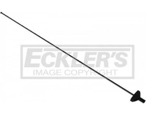 Malibu, Antenna Components Mast, Black, 1978-1983