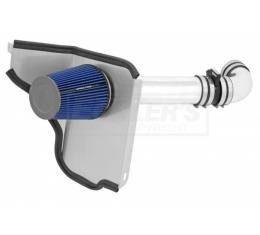 Chevelle Air Intake Kit, 4 Inch, Single Inlet, LSX, Passenger Side, With In-Boot MAF, 1966-1967